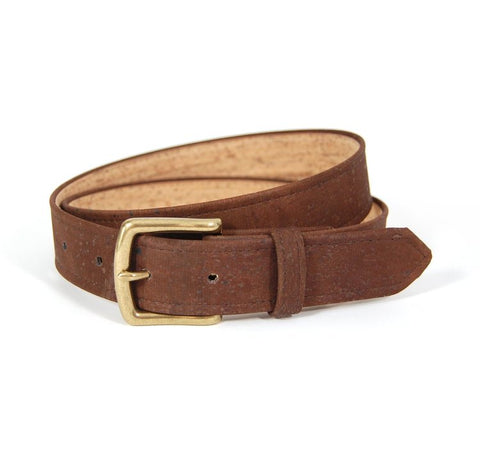 Brown Cork Belt from Cliff NYC