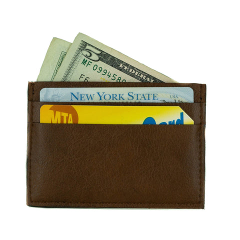 Boris Cardholder in Tan from Novacas