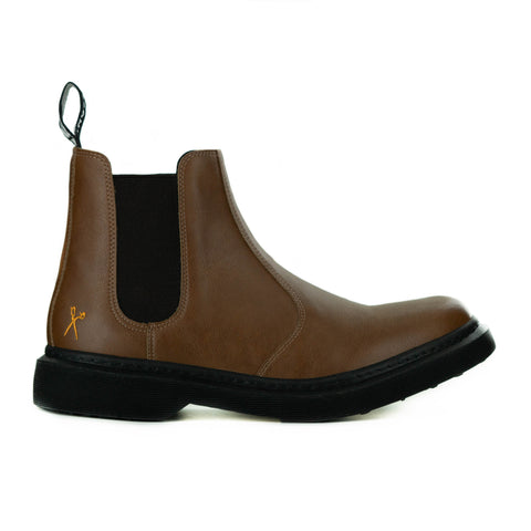 Brick Lane Chelsea Boot in Cognac from King55
