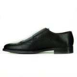 Mateo Monk Strap in Black from Novacas