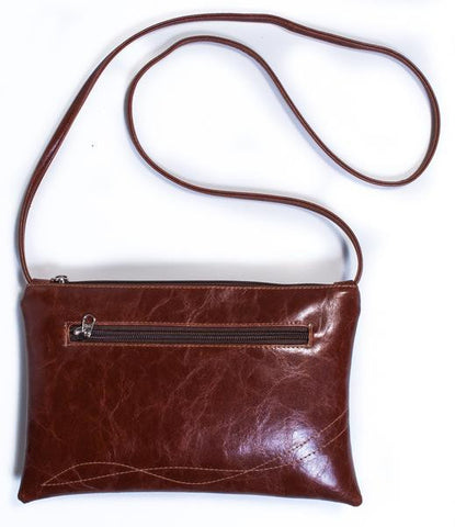 Bossa Nova Crossbody Bag in Brown from Crystalyn Kae