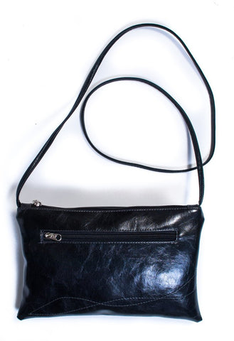 Bossa Nova Crossbody Bag in Black from Crystalyn Kae