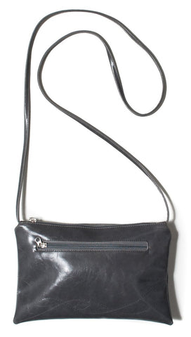 Bossa Nova Crossbody Bag In Grey from Crystalyn Kae