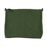 Ellie Crossbody in Green Suede from Novacas