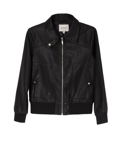 Arya Moto Jacket in Black from Matt & Nat