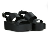 Greta Platform in Black from Novacas