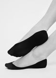 2 Pack Ida No Show Socks in Beige from Swedish Stockings
