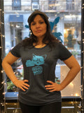 Orchard Grocer Women's Tee in Blue