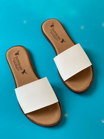 Aimee Slide in White from Novacas