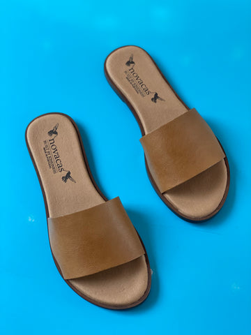 Aimee Slide in Camel from Novacas