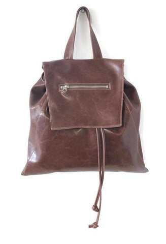 Backpack in Brown from Crystalyn Kae