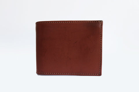 Zipped Wallet In Cognac