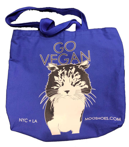 MooShoes Go Vegan Tote
