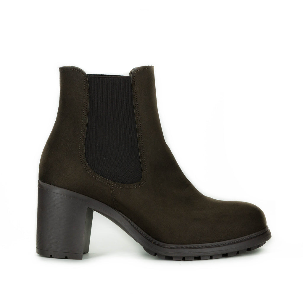 Kaitlin Bootie in Brown Suede from Novacas
