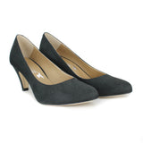 Katie Pump in Black Suede from Novacas