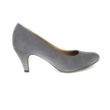 Katie Pump in Grey Suede from Novacas