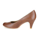 Katie Pump in Tan from Novacas