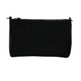 Marina Small Crossbody in Black Suede from Novacas