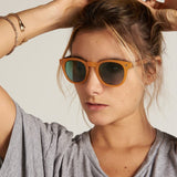 Cala Sunglasses in Gentle Tortoise by Parafina