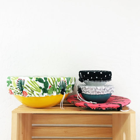 3 Pack of Reusable Bowl Covers from Marley's Monsters