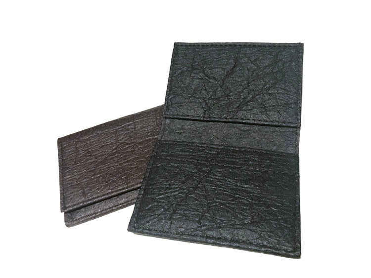 Cliff Belts Foldover Wallet In Black Pineapple