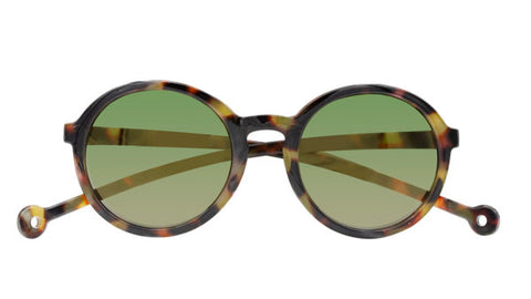 Coral Sunglasses in Tortoise by Parafina
