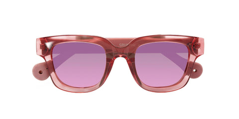 Grusoni Sunglasses in Pink from Parafina