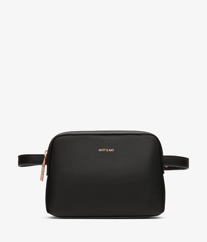 Paris Belt Bag in Black from Matt & Nat