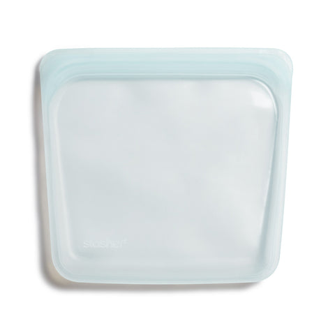 Reusable Sandwich Bag in Moonstone from Stasher Bag