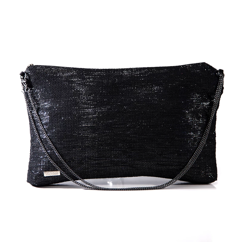 Recycled Crossbody in Black from Trópicca