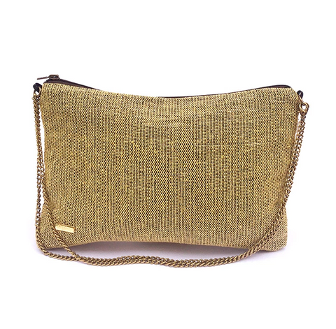 Recycled Crossbody in Sand from Trópicca