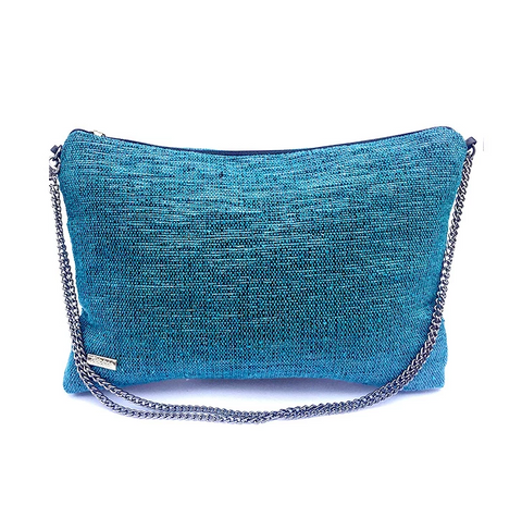 Recycled Crossbody In Blue from Trópicca