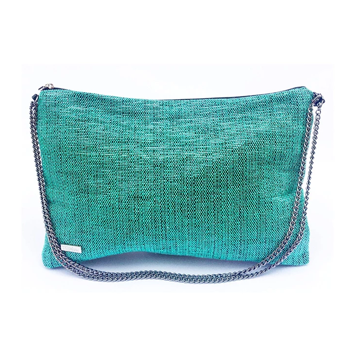Recycled Crossbody In Green from Tropicca