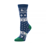 Reindeer Crew in Navy from Zkano