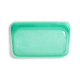 Reusable Snack Bag in Jade from Stasher Bag