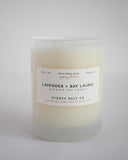 Lavender + Bay Laurel Soy Candle from Sydney Hale