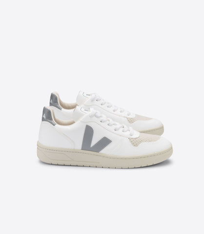 V-10 Sneaker in White Grey from Veja