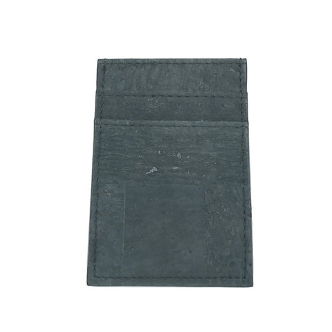 CLIFF BELTS Vertical Wallet in Slate