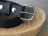 Coltrane Belt in Black from Herbivore Clothing