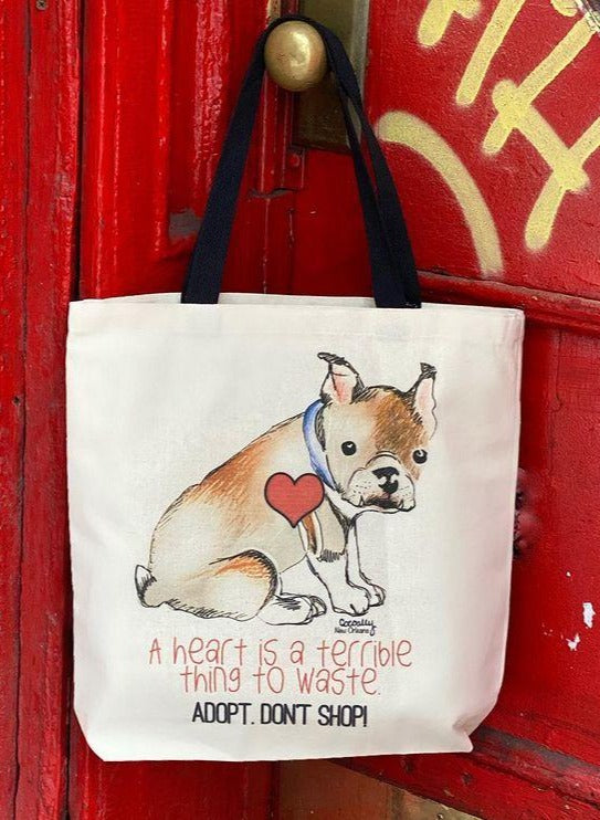 Adopt Don't Shop Tote from Cocoally