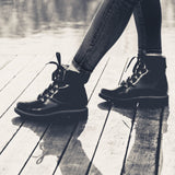 Aspen Hiker Boot in Black from Bhava