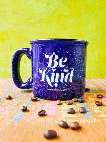 Be Kind Camp Mug by Herbivore