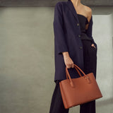 Cher Signet Tote in Brown from Angela Roi