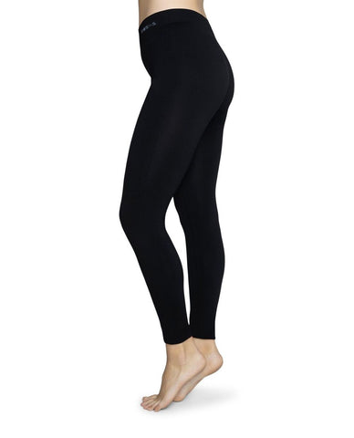 Gerda Sustainable Leggings in Black from Swedish Stockings