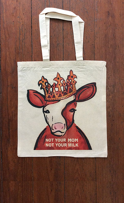 Not Your Mom, Not Your Milk Tote by Cocoally