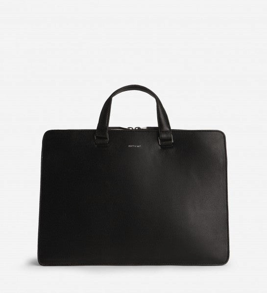 David Briefcase in Black from Matt & Nat