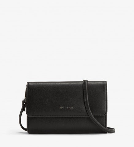 Drew Crossbody in Black from Matt & Nat