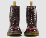 8 Eye Boot in Cherry from Dr. Martens