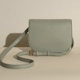 Hamilton Round Crossbody in Emerald from Angela Roi