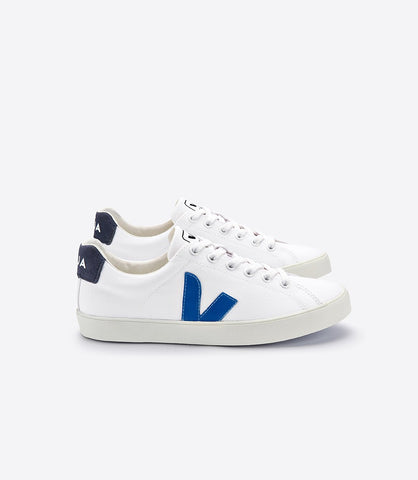 Women's Esplar Sneaker in White/Indigo from Veja